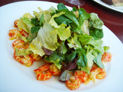 The healthier but just as tasty crayfish salad