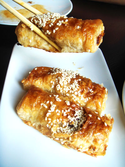 More char siu goodness comes encased in flaky puff pastry