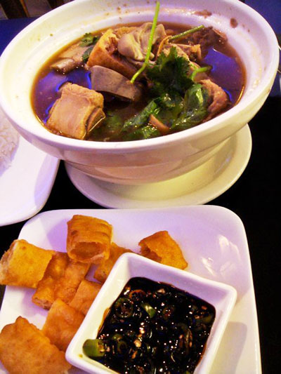 Bak Kut Teh and a side of 'yew char kuay'