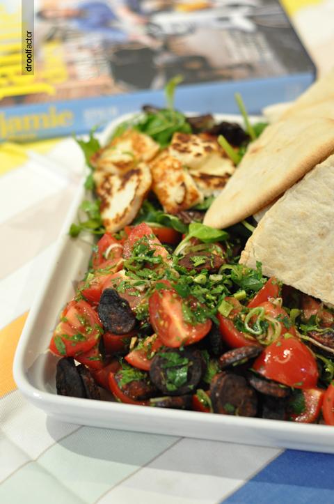 Jamie Oliver's Chorizo & Tomato Salad | droolfactor
