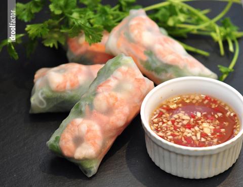 Vietnamese Rice Paper Rolls | droolfactor