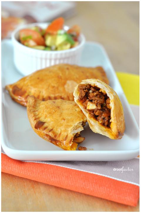 Sweet & Spicy Beef Empanadas | droolfactor